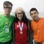 Olimpíadas Etapa no Colégio Integrado XV de Novembro